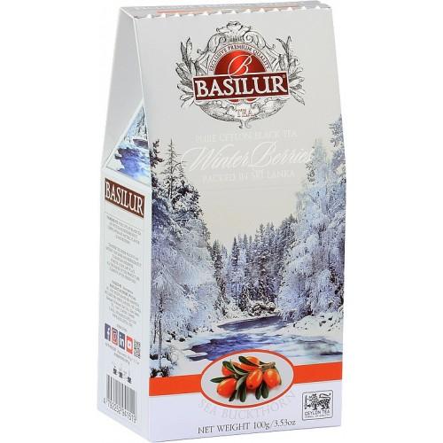 BASILUR Winter Berries Sea Buckthorn papier 100g  (3794)