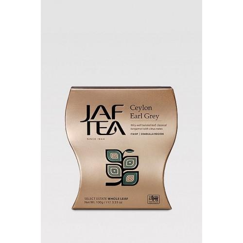 JAFTEA Black Ceylon Earl Grey papier 100g (2603)