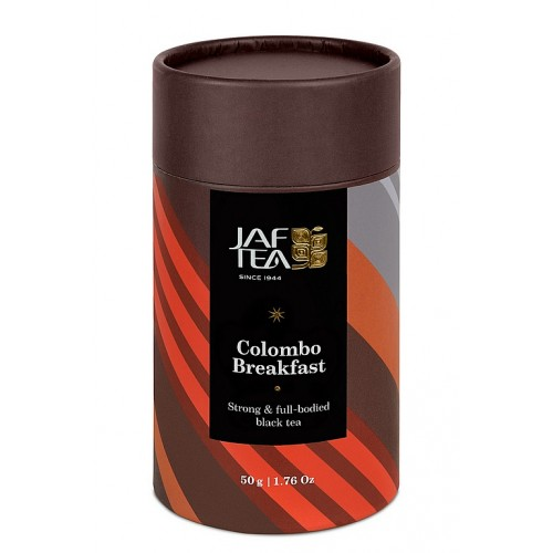 JAFTEA Colours of Ceylon Colombo Breakfast papier 50g (2625)