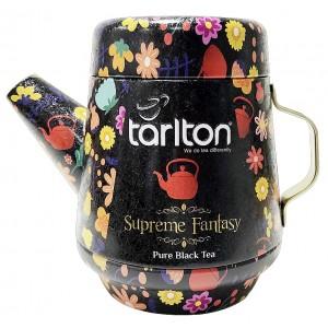 TARLTON Tea Pot Supreme Fantasy Black Tea plech, 100g (7084)