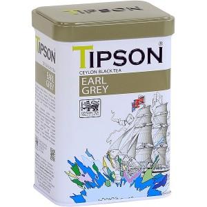 TIPSON Earl Grey plech 85g (7847)