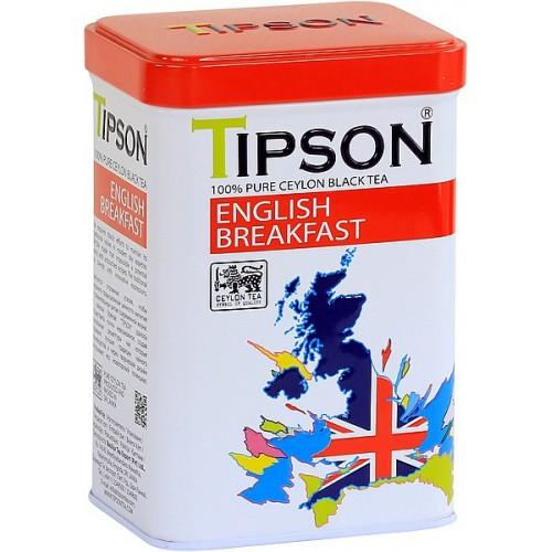 TIPSON English Breakfast plech 85g (7846)