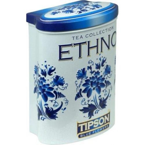 TIPSON Ethno Blue Flowers plech 100g (5025)