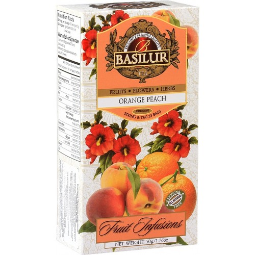BASILUR Fruit Orange Peach 25x2g (7329)