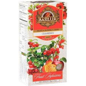BASILUR Fruit Cranberry 25x2g (7331)