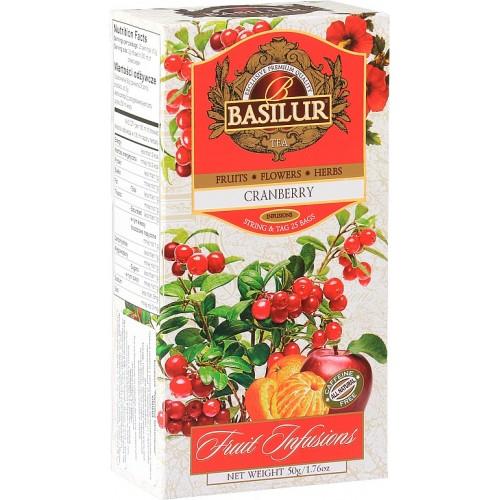 BASILUR Fruit Cranberry 25x2g (7331)