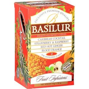 BASILUR Fruit Infusions Assorted Volume II. 20x1,8g (4449)