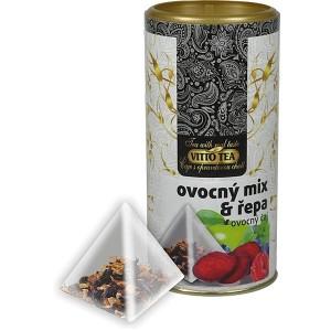 VITTO Tubus Ovocný mix s červenou repou pyramída 15x2g (984)