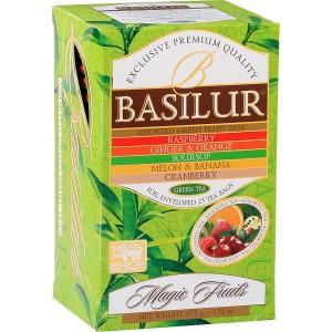 BASILUR Magic Fruits Green Assorted přebal 20x1,5g (3835)