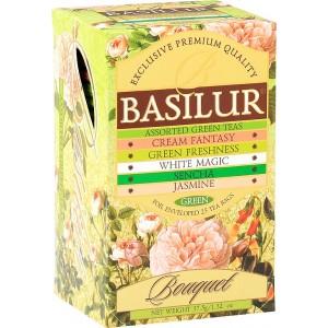 BASILUR Assorted Green Bouquet 4x5x1,5g (7633)