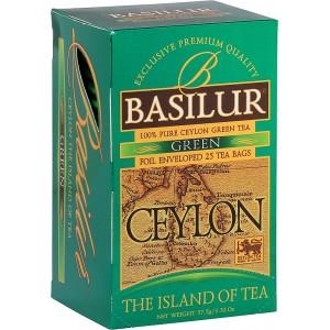 BASILUR Island of Tea Green 20x2g (7612)