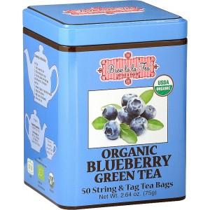 BREW LA LA TEA BIO Green Organic Blueberry 50x1,5g (2509)