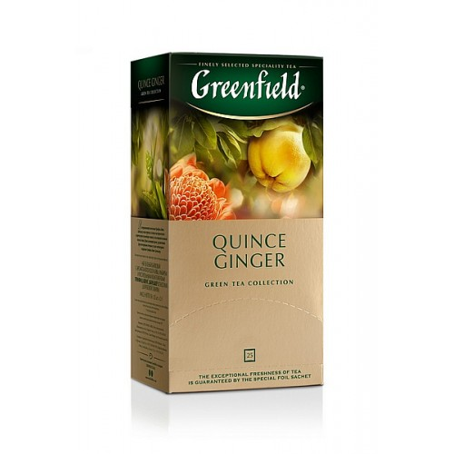 Greenfield Green Quince Ginger 25x2g (5592)