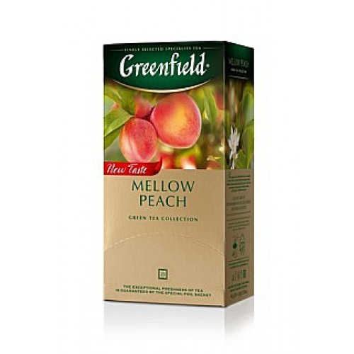 Greenfield Green Mellow Peach 25x1,8g (5532)