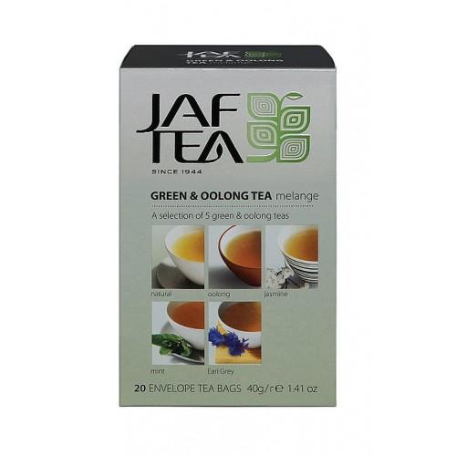 JAFTEA Green & Oolong Tea Mélange 5x4x2g (2886)