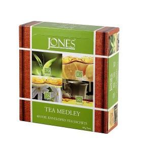 JONES Variace No.40 Green 4x10x1,5g (6503)