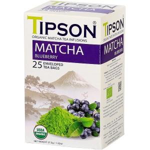 TIPSON BIO Matcha Blueberry 25x1,5g (5070)