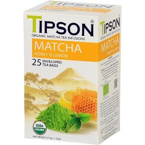 TIPSON BIO Matcha Honey & Lemon 25x1,5g (5073)