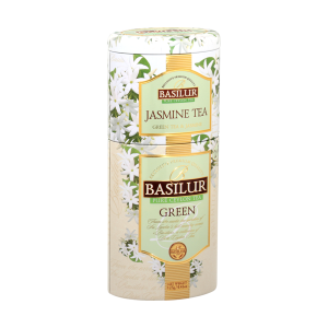 BASILUR 2v1 Jasmine & Green plech 50g & 75g (7539)