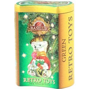 BASILUR Retro Toys Green plech 75g (4505)