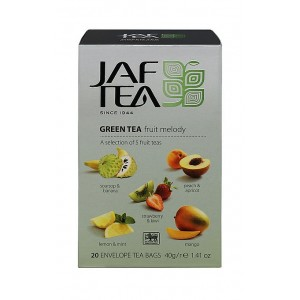 JAFTEA Green Fruit Melody 5x4x2g (2885)