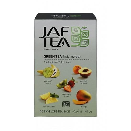 JAFTEA Green Fruit Melody přebal 5x4x2g (2885)