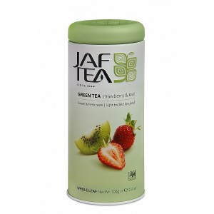 JAFTEA Pure Green Strawberry & Kiwi 100g plech (2724)