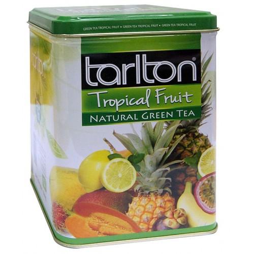 TARLTON Green Natural Tropical Fruits plech 250g (7022)