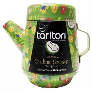 TARLTON Tea Pot Cardinal Soursop Green Tea plech, 100g (7081)