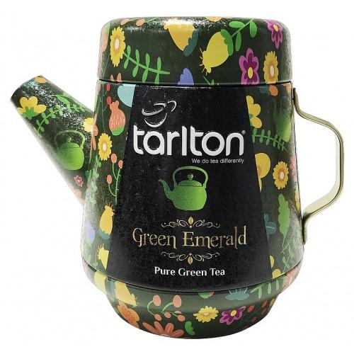 TARLTON Tea Pot Green Emerald Green Tea plech, 100g (7082)