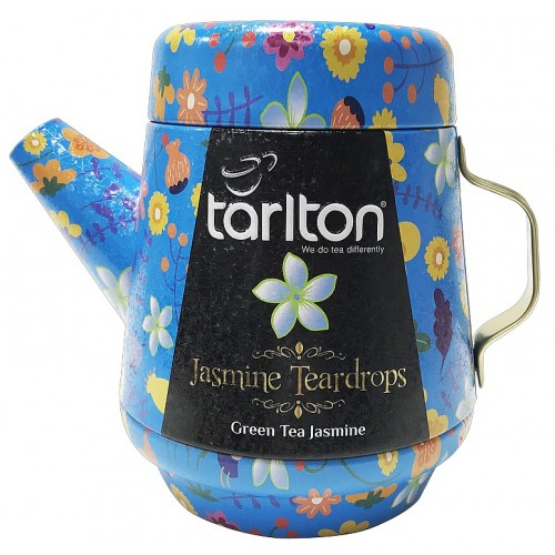TARLTON Tea Pot Jasmine Teardrops Green Tea plech, 100g (7083)