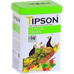 TIPSON Ceylon Green plech 85g (7849)