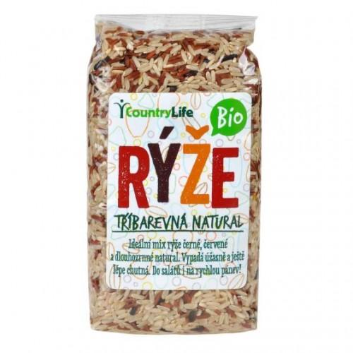 COUNTRY LIFE BIO ryža trojfarebná, 500g