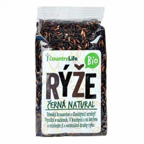 COUNTRY LIFE BIO ryža čierna natural, 500g