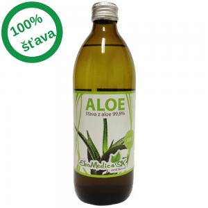 EkoMedica - Šťava aloe vera 99,% (0,5l)