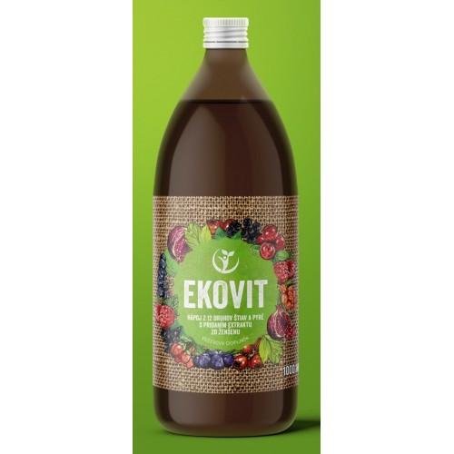 Šťava EKOVIT ekomedica 1l