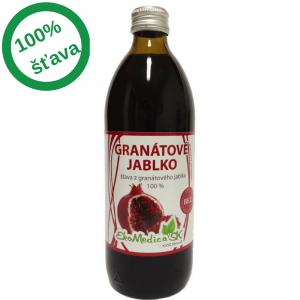 EkoMedica - Šťava granátové jablko 100,% (0,5l)