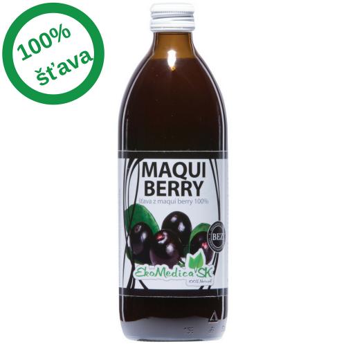 EkoMedica - Šťava Maqui berry 100% (0,5l)