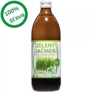 EkoMedica - Šťava zelený jačmeň (0,5l)