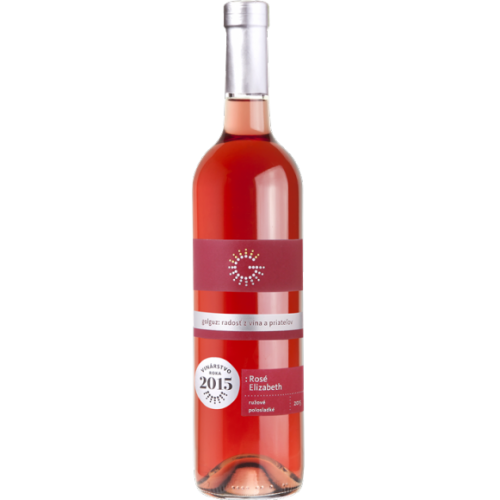 Golguz Rosé Elizabeth, akostné značkové víno, 2015, polosladké - 0,75l