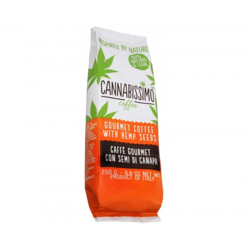 CANNABISSIMO COFFEE - konopná káva (250g)