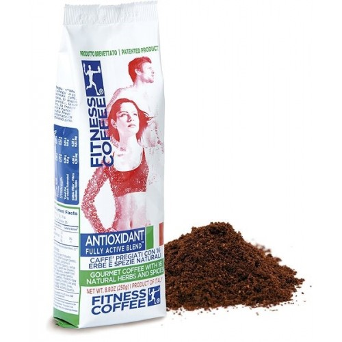 FITNESS COFFEE ANTIOXIDANT FULLY ACTIVE BLEND® MLETÁ (250g)
