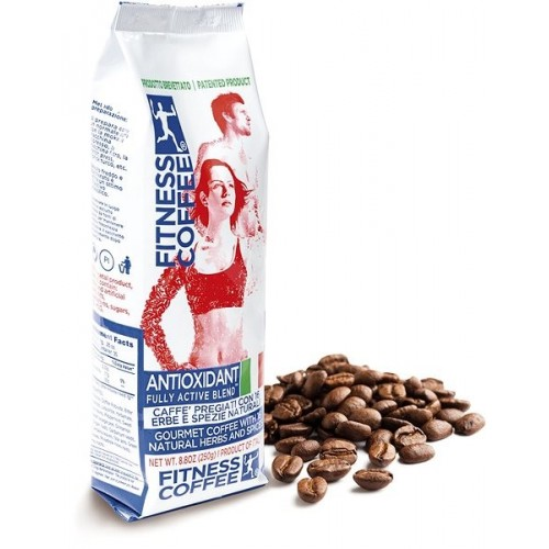 FITNESS COFFEE ANTIOXIDANT FULLY ACTIVE BLEND® ZRNKOVÁ (250g)