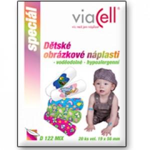 Viacell obrázkové náplaste Fantasia 19x56mm, 10ks (D122 MIX)