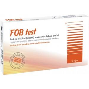Imunochemický FOB test