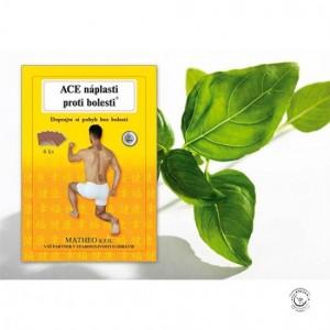 ACE náplasti proti bolesti  6ks