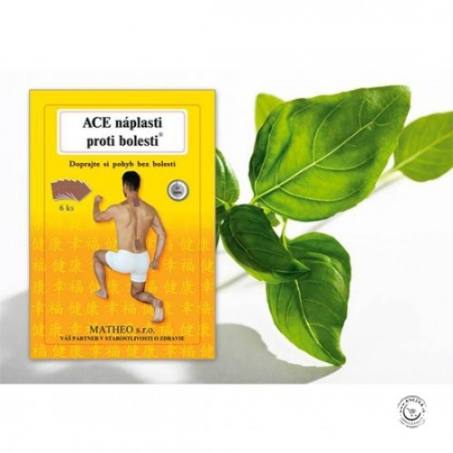 ACE náplasti proti bolesti  4ks