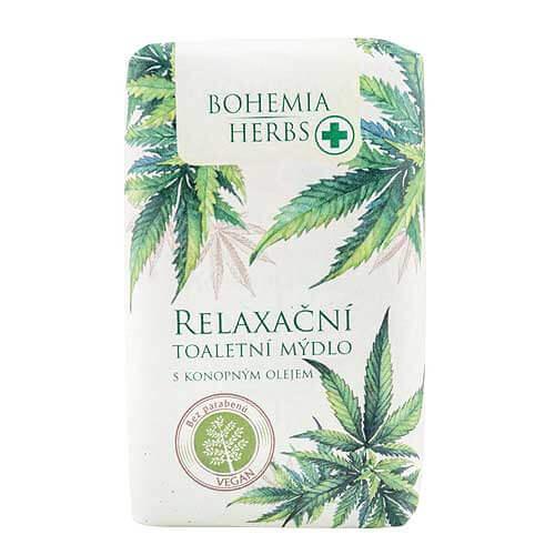 BOHEMIA Konopné toaletné mydlo, cannabis, 100g (BC000288)