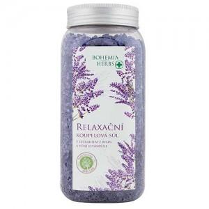 Bohemia Herbs soľ do kúpeľa, levanduľa, 900g (BC000336)