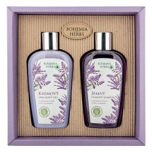 Bohemia Herbs sada levanduľa, sprchový gél, šampón (BC007962)